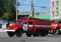 АЦ-2,5-40(131)-6ВР на шасси АМУР-5313 #С 266 ЕВ 45. Курган, улица Ленина