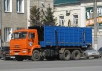 Мусоровоз МК-20-01 на шасси КамАЗ-65115 (шасси) #А 062 КЕ 45. Курган, улица Куйбышева