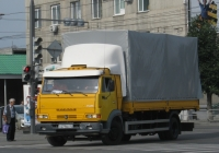 Бортовой грузовик КамАЗ-4308 #М 271 ЕН 45. Курган, улица Ленина