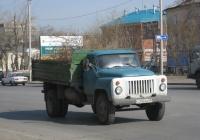 Самосвал ГАЗ-САЗ-3507 на шасси ГАЗ-53-14 #У 240 АА 45. Курган, улица Бурова-Петрова