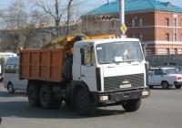 Самосвал МАЗ-5516 #О 707 ВР 45. Курган, улица Бурова-Петрова