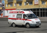 """АСМП ГАЗ-32214 """"Газель"""" #М 577 ЕА 45. Курган, Пролетарская улица"""
