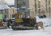 Бульдозер-рыхлитель на базе трактора Т-170*. Курган, Молодёжный парк