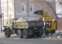 Самосвал на шасси Урал-4320* #Т 779 ВК 45 и погрузчик МКСМ-800. Курган, улица Куйбышева