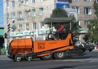 Асфальтоукладчик АСФ-К-3-02. Курган, улица Ленина