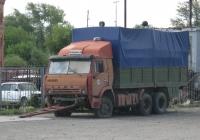 Автомобиль КамАЗ-5320. Курган, Сибирская улица