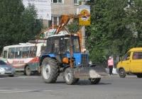 БМ-205В на шасси Беларус-82.1 . Курган, улица Куйбышева