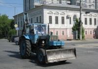 Экскаватор-бульдозер ЭО-2621А на базе трактора ЮМЗ-6*. Курган, улица Савельева