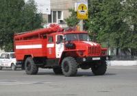 Автоцистерна пожарная АЦ-3,0-40(43206)-001МИ #Р 539 ВС 45. Курган, улица Куйбышева