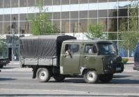 "УАЗ-39094 ""Фермер"" #Е 360 ВН 45. Курган, улица Ленина"