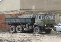Самосвал КамАЗ-55102 #Х 186 ЕК 45. Курган, Советская улица