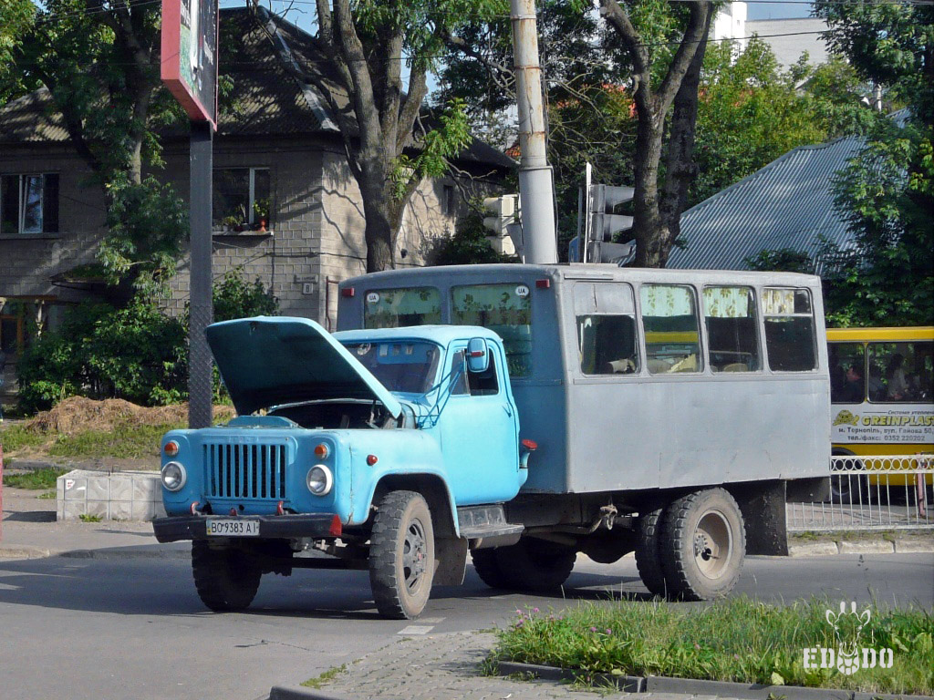 ТС-3966 на шасси ГАЗ-53-12  #ВО 9383 АІ. Тернополь, Галицкая улица