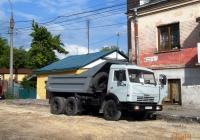 Самосвал КамАЗ-5511 #ВО 9157 АА. Тернополь, Збаражская улица