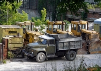 ЗиЛ-ММЗ-4502 на шасси ЗиЛ-495810 #ВО 9157 АА. Тернополь, Збаражская улица