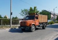Мусоровоз КО-424 на шасси ЗИЛ-494560 #СН 4760 АА  . Севастополь, Древняя улица