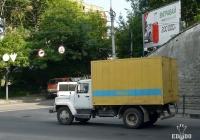 """Фургон на шасси ГАЗ-3309  #ВО 0358 АЕ . Тернополь, улица Воинов дивизии """"Галичина"""""""