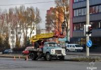 Автоподъёмник АП-17А на шасси ГАЗ-53-12 #ВО 8590 АН. Тернополь, Галицкая улица