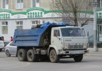 Самосвал КамАЗ-55111 #М 464 ЕР 45. Курган, улица Куйбышева