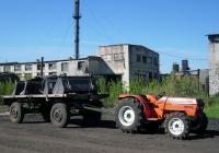 Трактор Goldoni 614D с автоприцепом ГКБ-817 #005409. Свердловская область, Луговской