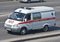 "АСМП на базе ГАЗ-27052 ""Газель"" #A 571 FN. Алматы, улица Саина"