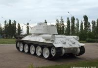 Средний танк Т-34-85. Нижний Новгород, парк Победы