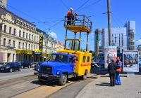 Автоподъёмник АТ-70Н на шасси ГАЗ-3307 #АЕ 2730 АО. Украина, Днепропетровск, улица Влодимира Мономаха