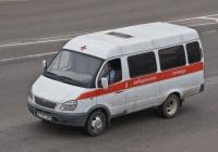 """Автомобиль медицинской помощи на базе ГАЗ-322132 """"Газель"""" #A 570 DP. Алматы, улица Саина"""