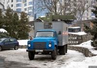 Аварийная кабельных сетей на шасси ГАЗ-53-12 #АА 5856 ТС. Киев, Московская площадь