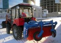 Машина уборочная МУ-320 МКО-4ГП на базе трактора Беларус-320.4. Екатеринбург (Свердловск)