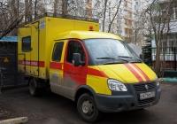 """Фургон аварийной службы Спецавтомаш-278801 на шасси ГАЗ-33023 """"Газель-Бизнес"""" #С 471 НУ 777. Москва, 6-й Новоподмосковный переулок"""