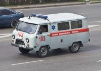 АСМП УАЗ-39629 #A 201 HO. Алматы, улица Саина