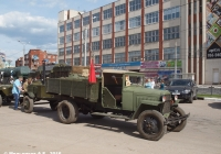 Грузовик ГАЗ-ММ с полевой кухней КП-2-49. Иваново, площадь Победы