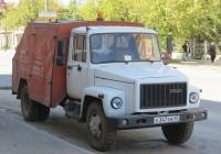Подметально-уборочная машина ПУМ-1 на шасси ГАЗ-3307 #Е 347 ЕВ 45. Курган, улица Куйбышева