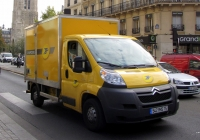 Почтовый фургон на шасси Citroen Jumper #542 RHS 75. Франция, Париж