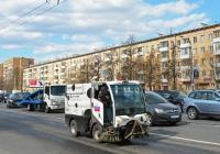 Вакуумная уборочная коммунальная машина Bucher CityCat 2020 (ВКМ 2020) . Москва, Ленинградское шоссе