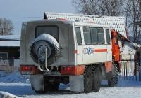 Вахтовый автобус НефАЗ-4208-03 на шасси КамАЗ-43114 #С 152 РМ 154. Новосибирская область, Коченёво, проспект Марковцева