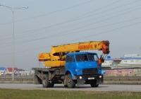 Автокран КС-3577 на шасси МАЗ-5334 #Р 101 МУ 31. Белгородская область, г. Старый Оскол, Южная объездная дорога