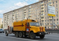 Аварийно-ремонтная машина МГТС на шасси ЗиЛ-4334 #А 986 РЕ 199. Москва, Варшавское шоссе