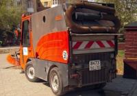 Коммунальная машина Hako CityMaster 1800 #8473 ТС 72. Тюмень, улица Республики