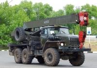 Кран КС-3574М3 на шасси Урал-4320-31. Белгородская область, г. Алексеевка, улица Тимирязева