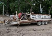 Станок для производства бескаркасных арочных зданий MIC-120 ABM на полуприцепе. Алматы, 4 микрорайон