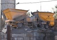Мобильный бетонный завод Fibo Intercon M2200. Алматы, Восточная объездная автодорога