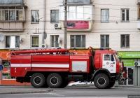Пожарная автоцистерна АЦ-9,0-40(43118) на шасси КамАЗ-43118. Киев, Голосеевский проспект