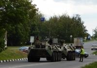 БРЭМ-К буксирует БТР-82А. Белгородская область, г. Алексеевка, улица Тимирязева