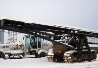 Сваебойный копер СП-49Д на базе трактора Т-170Б #1663 ХЕ 86. Тюмень