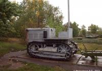 """Гусеничный трактор С-65 """"Сталинец"""". Саратов, парк Победы"""
