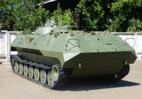 Машина командира артиллерийской батареи 1В14М. Пермь, музей Мотовилихинского завода