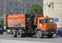 Мусоровоз МК-4454-37 (МКМ-4707) на шасси КамАЗ-65115 #О 856 ЕХ 45. Курган, улица Куйбышева