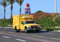 Передвижной пункт переливания крови на базе Chevrolet Silverado 3500 #13-371-64. Израиль, Хайфа