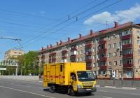 Фургон аварийной службы Мосводоканала на базе Mitsubishi Fuso Canter #К 623 СН 197 . Москва, Большая Академическая улица